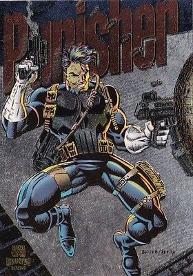 1994 Marvel Comics Universe Power Blast Insert Card #2 The Punisher LL