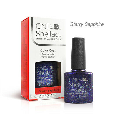 CND Shellac UV Gel Polish - Starry Sapphire 0.25oz /7.3ml