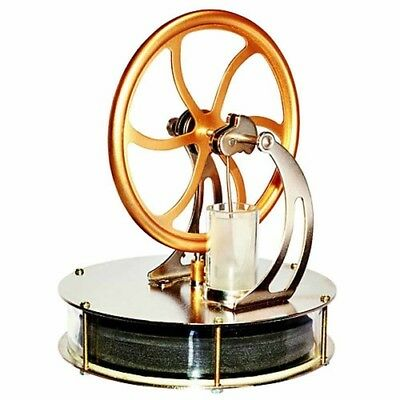 Educational Stirling Engine Power Electricity Model Heat Cool Set Generator