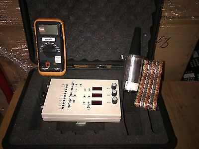 GE Security CTX 9000 X-RAY SYSTEM HVPS FAULT ISOLATION TOOL KIT P/N: 604228-1