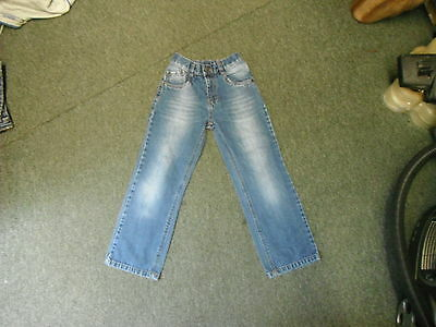 "Next Straight Jeans W 22"" L 22"" Faded Medium Blue Boys 8 Yrs Jeans"