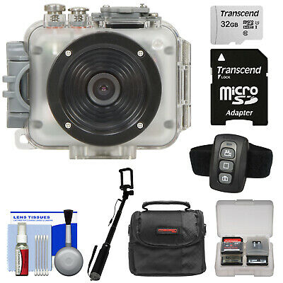 Intova Connex 1080p HD 60m / 200ft Waterproof Video Action Camera Camcorder Kit
