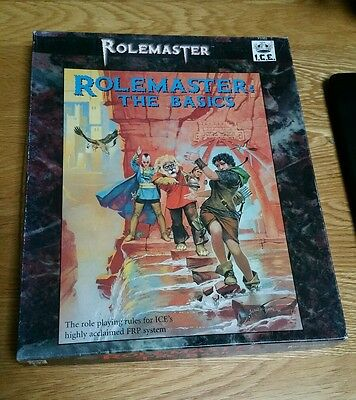 Rolemaster The Basics Box Boxed Set Ice Merp Shadow World Iron Crown Rpg Oop