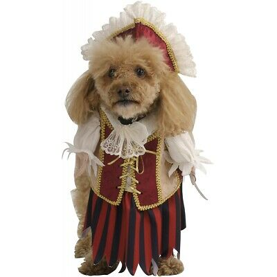 Pirate Queen Dog Doggy Halloween Pet Costume