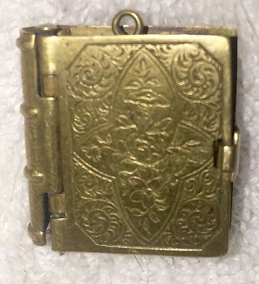 RARE CIVIL WAR LOCKET WITH Images LINCOLN GRANT OFFICERS UNIQUE GOLD FILLED
