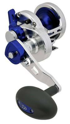 Daiwa Saltiga Lever Drag Overhead Fishing Reel - Model LD50 - 2 speed