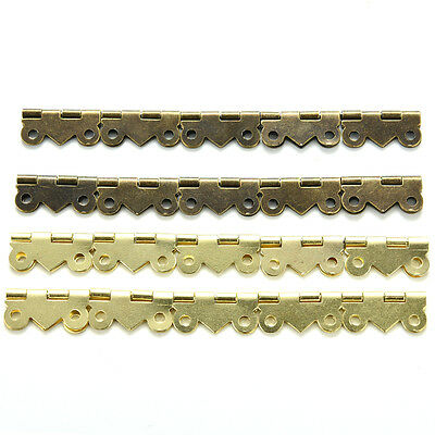 10/20pcs Decorative Vintage Mini Butterfly Hinges For Cabinet HU