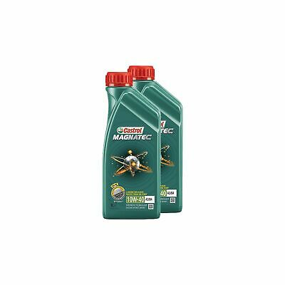Castrol Magnatec 10W40 Semi-Synthetic Car Engine Oil - 2 Litre / 2L