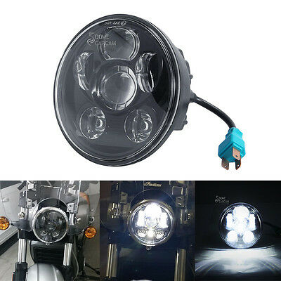 "5.75"" Daymaker LED Headlight For Harley Davidson Breakout cross bone Blackline"