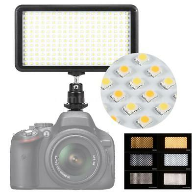 *US* LED Video Light Lamp Panel Dimmable 20W 2000LM for DSLR Camera DV Camcorder