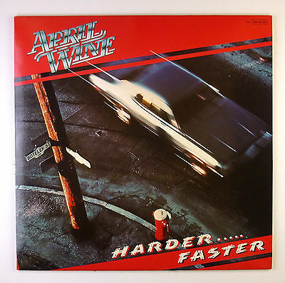 "12"" LP - April Wine - Harder.....Faster - C2055 - washed & cleaned"