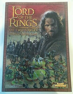 LOTR TTT The Two Towers SBG Strategy Battle Game Rulebook OOP