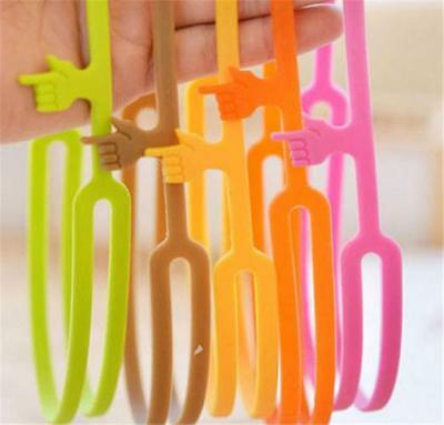 1Pc Silicone Bookmarks Note Pad Memo Stationery Book Mark Novelty Funny Gift