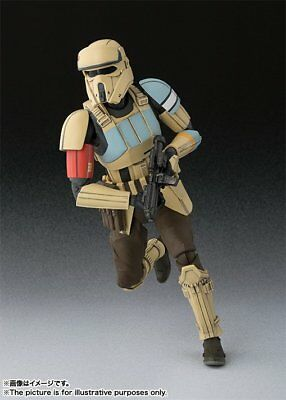 BANDAI S.H.Figuarts Scarif StormTrooper (ROGUE ONE) Action Figure Star Wars