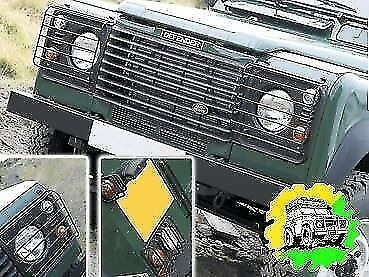 Land Rover Defender Wolf Style Light Guard Kit Front and Rear DA4400