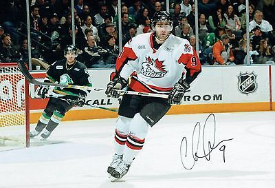 Chris LAWRENCE Ice HOCKEY Ice Dogs Signed Autograph Photo AFTAL COA