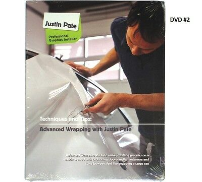 Justin Pate Dvd #2 Vehicle Car Graphic Vinyl Wrap Installation Wrapping Guide