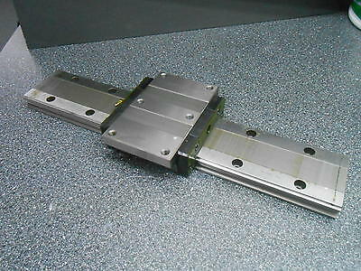 "Thk Hrw50 Wide Rail Lm Guide Linear Slide 19-5/8"" Long"