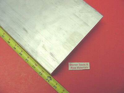 "1/2"" X 8"" ALUMINUM 6061 FLAT BAR 24"" long T6511 .500"" SOLID PLATE Mill Stock"