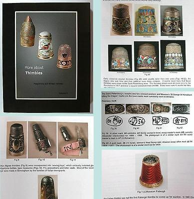"""New """"More About Thimbles"""" Reference Book Vol 3 * William & Magdalena Isbister"""