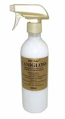 Gold Label - Canigloss Dog Coat Grooming Spray x 500 Ml