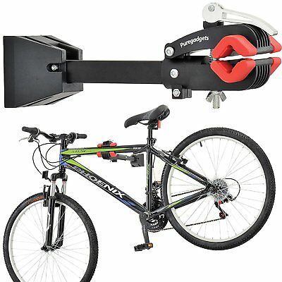 Wall Mount Heavy Duty Bike Bicycle Maintenance Mechanic Repair Folding Clamp Pro