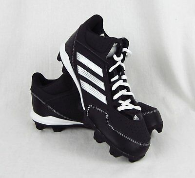dbef054cf New Youth Adidas Wheelhouse MD Mid Baseball Cleats Black and White Size 5