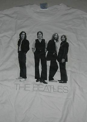 """The Beatles """"Last Era"""" All-Cotton T-Shirt Adult Large Fully Licensed"""