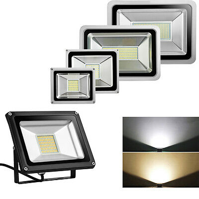 LED Floodlight SMD 10/20/30/50/100/150/200/300/500W High Power Security Light UK