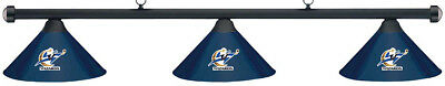 NBA Washington Wizards Blue Metal Shade & Black Bar Billiard Pool Table Light