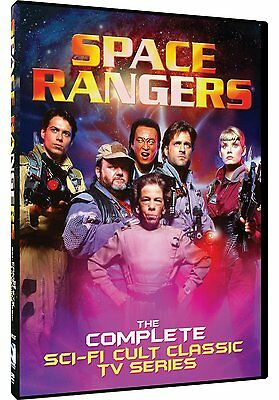 Space Rangers: The Complete TV Series 1990s Jeff Kaake Box / DVD Set NEW!