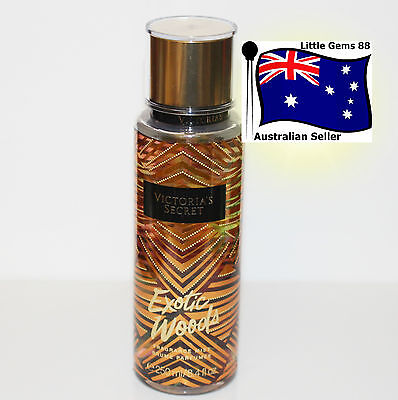 VICTORIA'S SECRET 250ML Exotic Woods LIMITED EDITION BODY MIST SPRAY