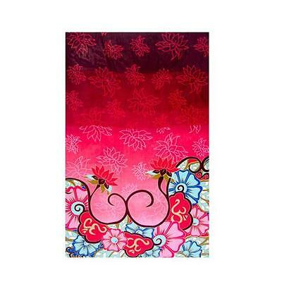 "Lotus & Om - Rayon Sarong 45"" x 62""    Altar/Table Cloth - Curtains - Hip Wrap"