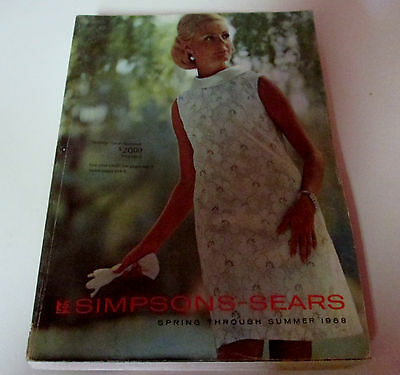 1968 Simpson=Sears Spring And Summer  Catalog Sears Of Canada Fashion Etc
