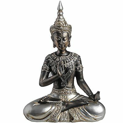 Hill Interiors Buddha Statue In Protection Posture