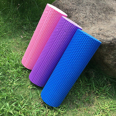 18x6'' EVA Foam Yoga Pilates Roller Back Trigger Point Massage Extra Firm lot