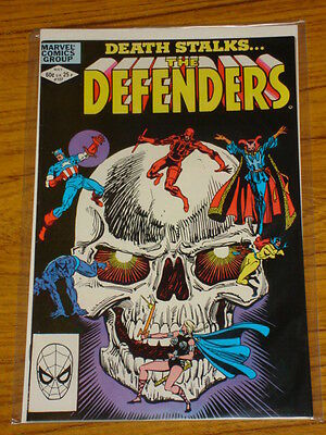 Defenders #107 Vol1 Marvel Comics Silver Surfer Apps May 1982