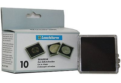 Lighthouse Quadrum Blank Foam Squares No Aperture with Acrylic Capsules 1 or 10