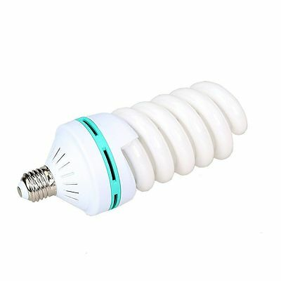 110V Photography Video Studio Continuous CFL Daylight Lamp Bulbs 5500K 150W E27