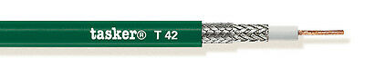 Tasker T 42 Coaxial cable HDTV-HD 75Ohm, 1x0,88 mm² 100 m