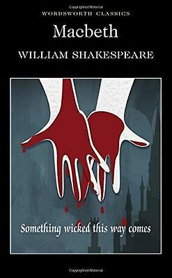 NEW - Macbeth (Wordsworth Classics) (PB) 1853260355