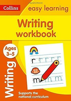 NEW - Writing Workbook Ages 3-5: New Edition (Collins Easy (PB) 0008151628