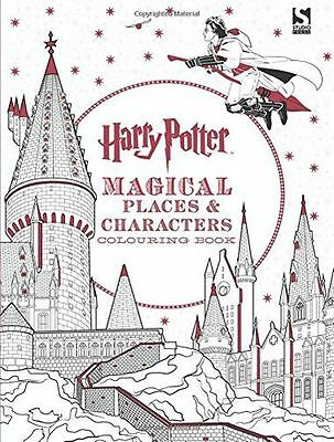NEW - Harry Potter Magical Places and Characters Colouring Book (PB) 1783706007