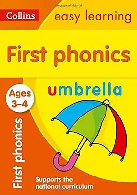 NEW - First Phonics Ages 3-4 (Collins Easy Learning Preschool) (PB) 0008151636