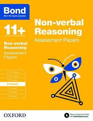 NEW - Bond 11+: Non-verbal Reasoning Assessment Papers: 8-9 (PB) 0192740237