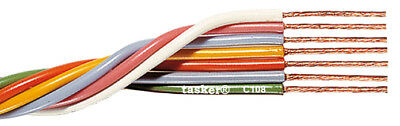 Tasker C108 Multicore flexible flat cable 7x0,35 mm² for electronics 100 m