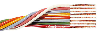 Tasker C109 Multicore flexible flat cable 8x0,35 mm² for electronics 100 m