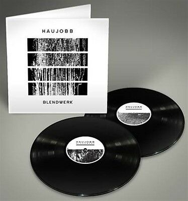 HAUJOBB Blendwerk 2LP BLACK VINYL 2015