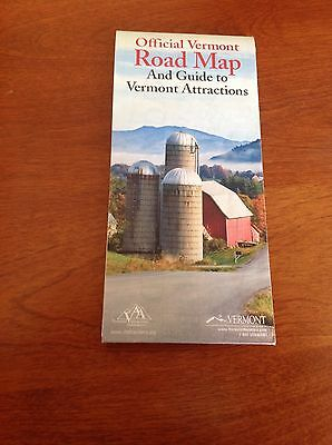 Official Vermont Road Map And Guide To Attractions