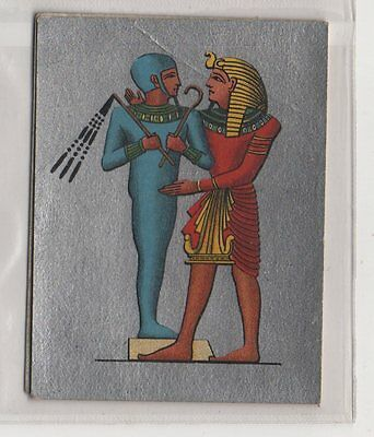 #24 King Embracing A God - Ancient Egypt Card